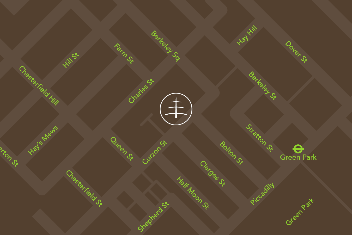 Crosstree Contact Map