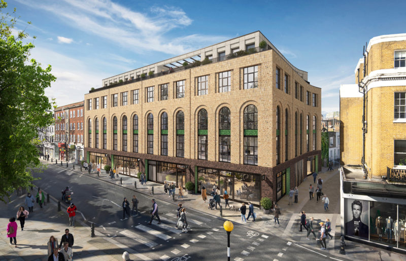 Crosstree portfolio - Kings Walk, Chelsea