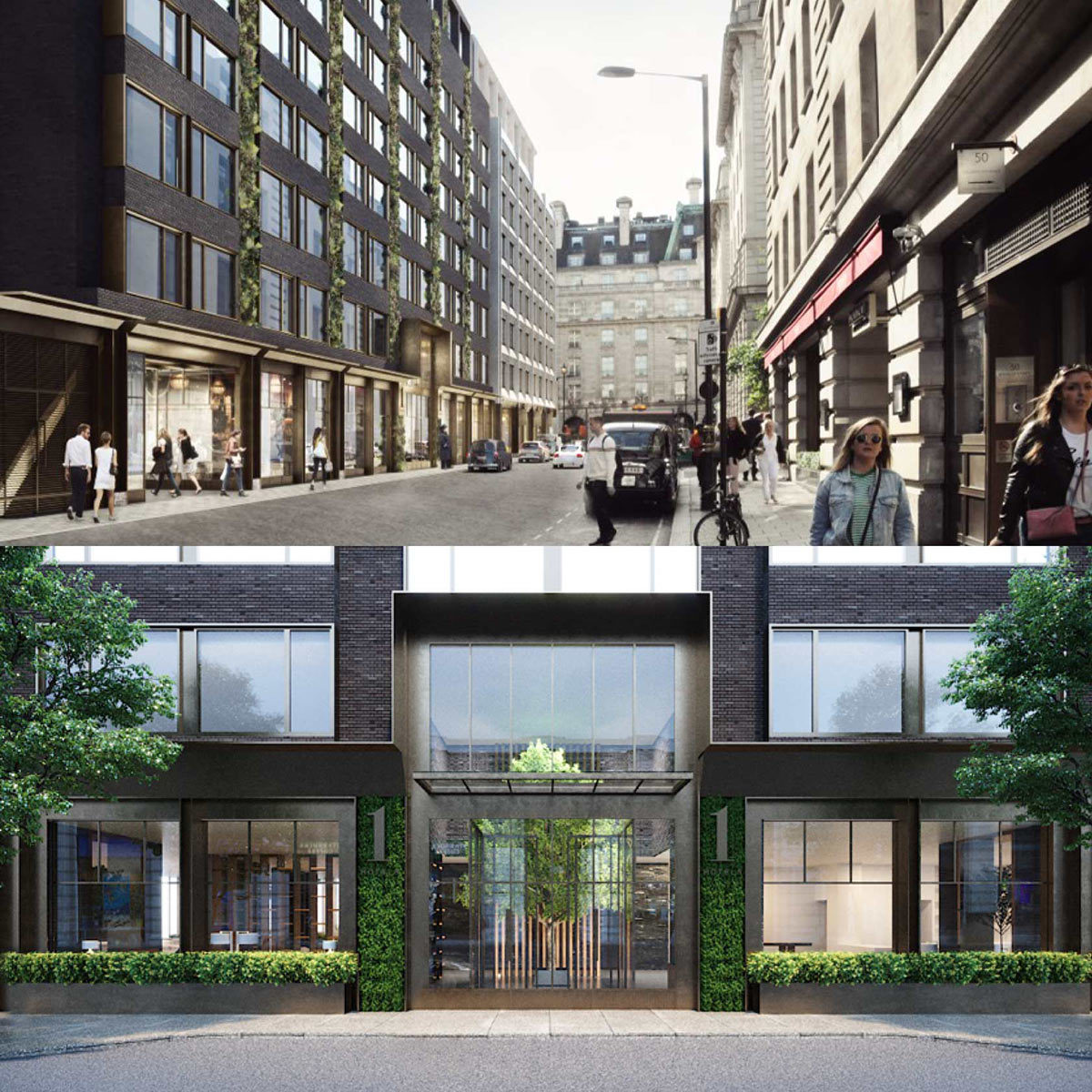 Crosstree portfolio - One Berkeley Street