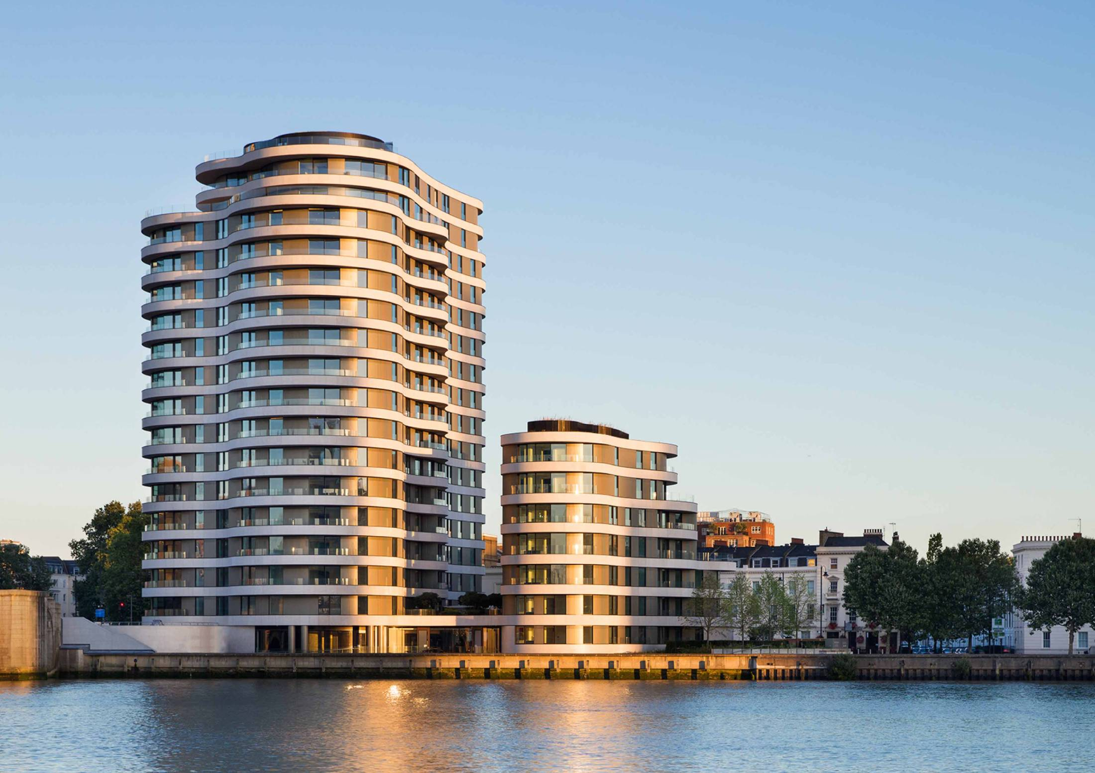 Crosstree portfolio - Riverwalk, Millbank, London