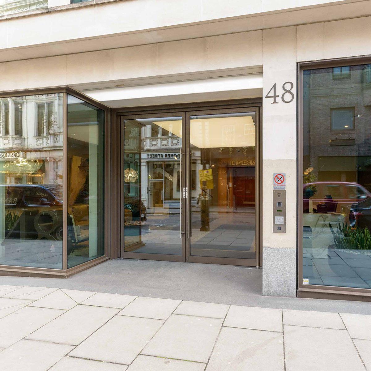 Crosstree portfolio - 43-48 Dover Street
