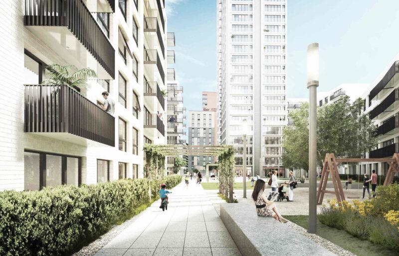 Crosstree portfolio - Portal Way, West London