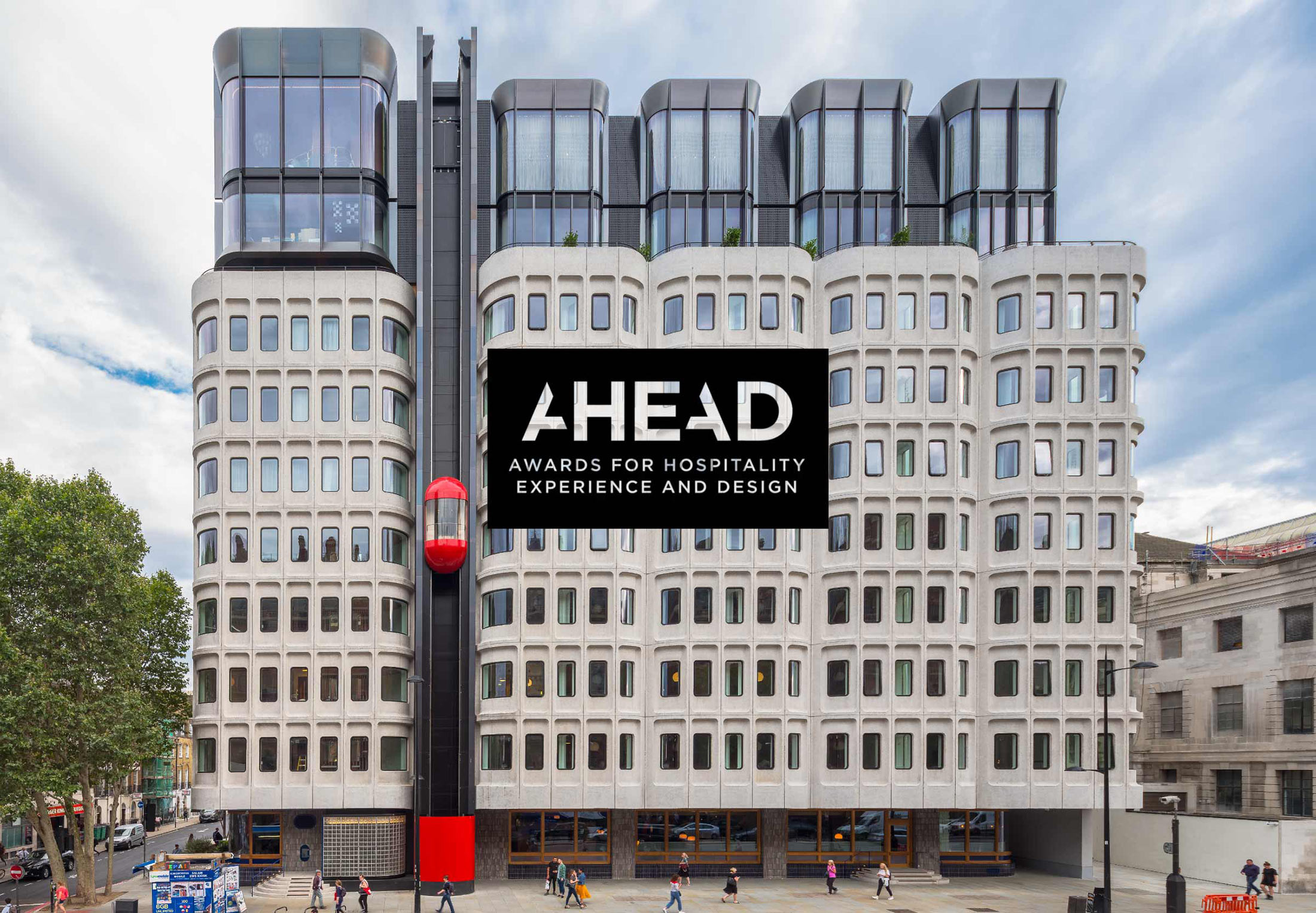 The Standard, London wins Hotel of the Year trophy at this year's AHEAD Europe