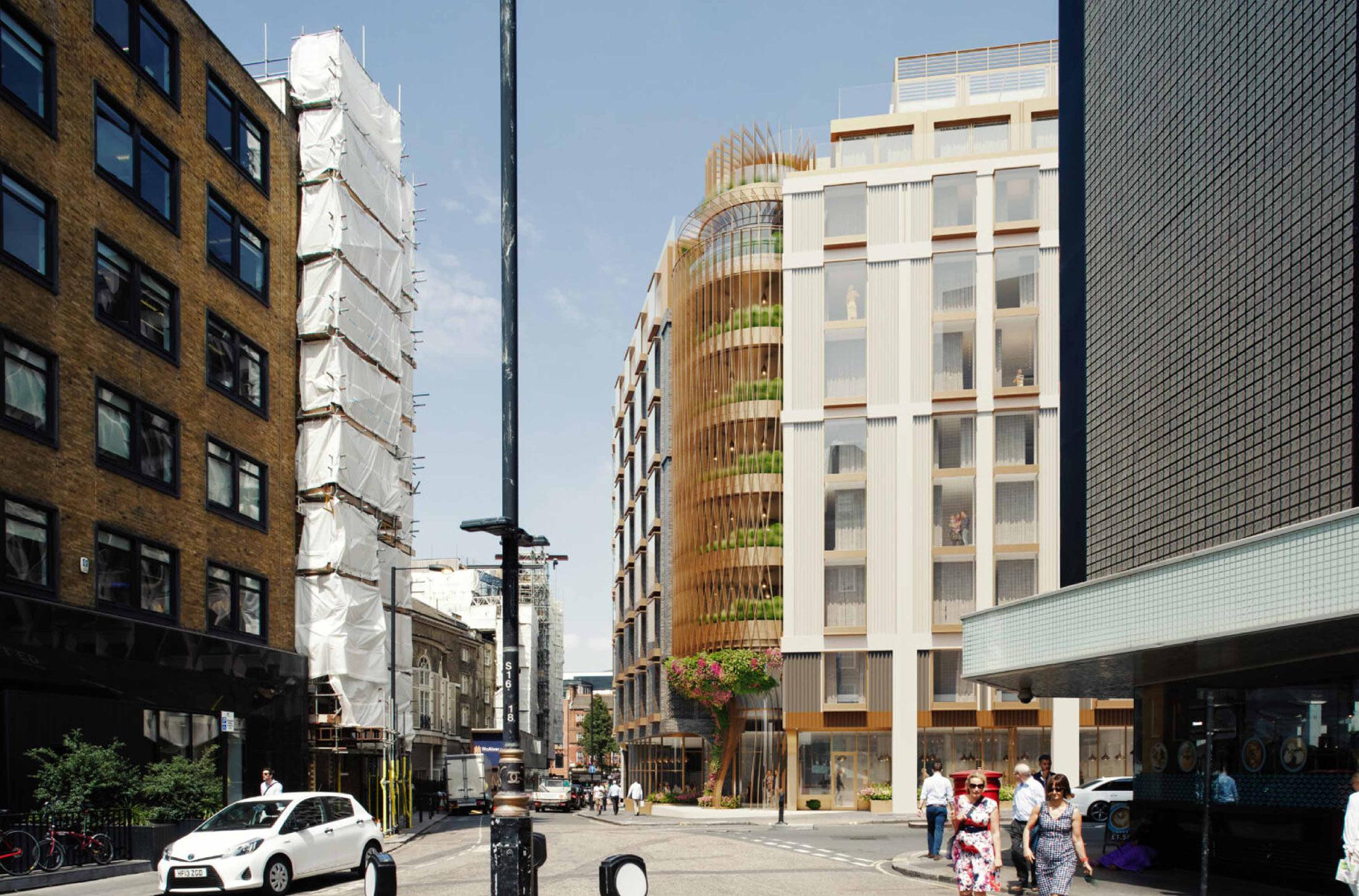 Crosstree portfolio - Marylebone Lane Hotel